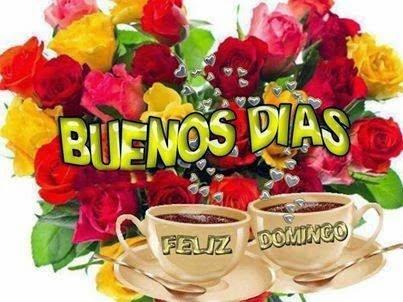 Feliz Domingo Imágenesdebuenosdiases